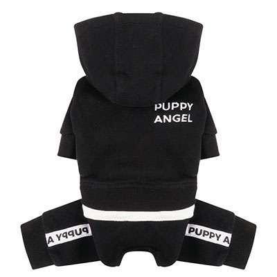 Hunde-Overall Angels Basic - Black