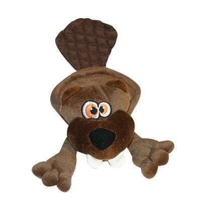 Hundespielzeug Brown Beaver