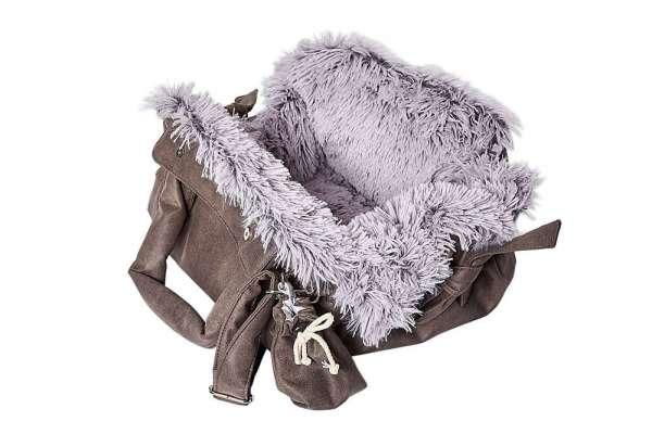 Hundetasche Bellagio Fluschel Exteme - Grey