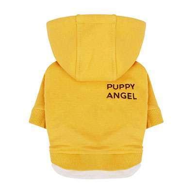 Hunde-Hoodie Angels Basic - Gelb