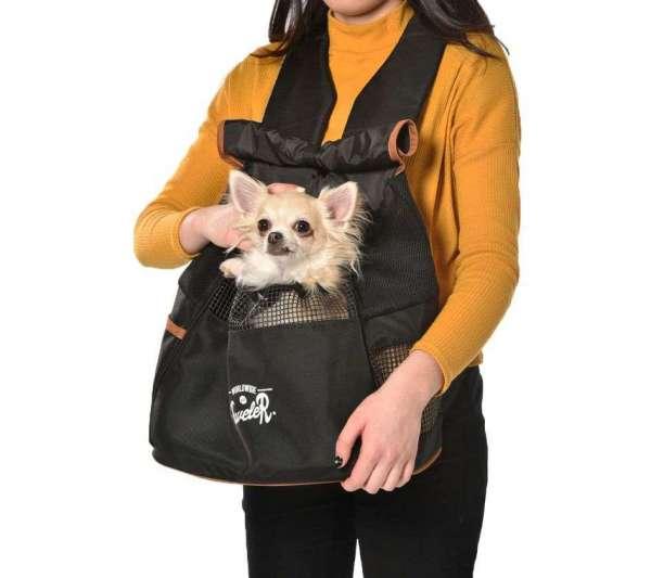 Hunderucksack Little Traveller - Black