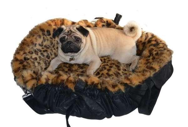 Designer Hundetasche Leo Deluxe - Black