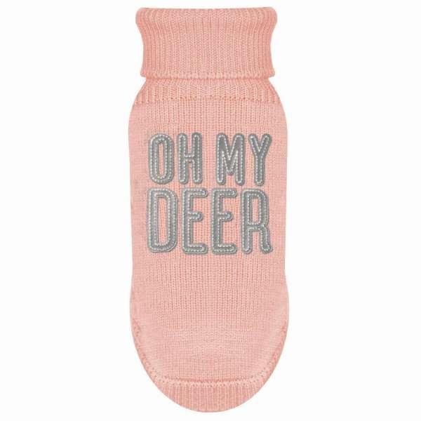 Milk & Pepper Hundepullover OH MY DEER - Rose´