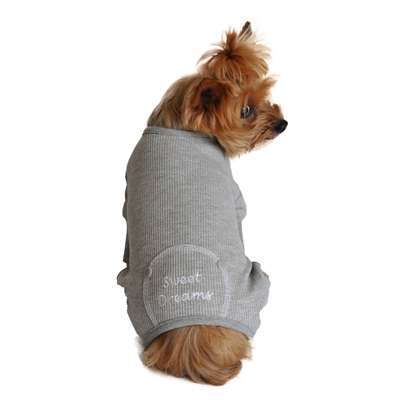 Hunde-Pyjama Sweet Dreams - Grey