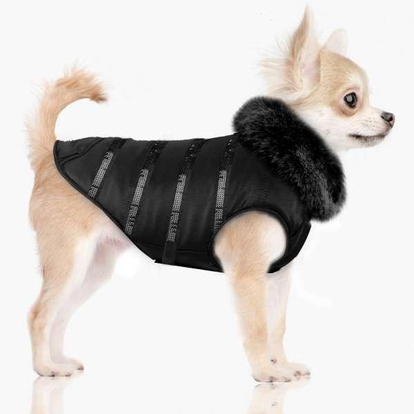 Designer Hundemantel Mayari - Black