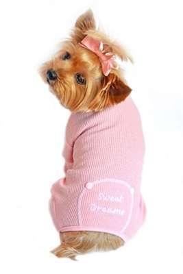 Hunde-Pyjama Sweet Dreams - Rosa