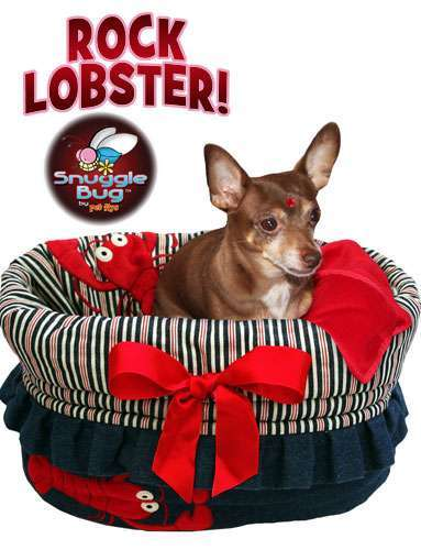 Hundetasche Snuggle Bug ROCK LOBSTER