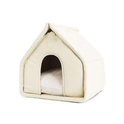 Designer Hunde-Schlafhöhle Little Villa - Creme