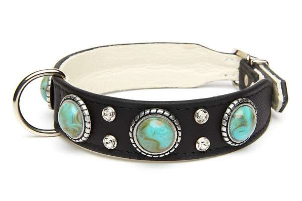 Hundehalsband Palma - Black