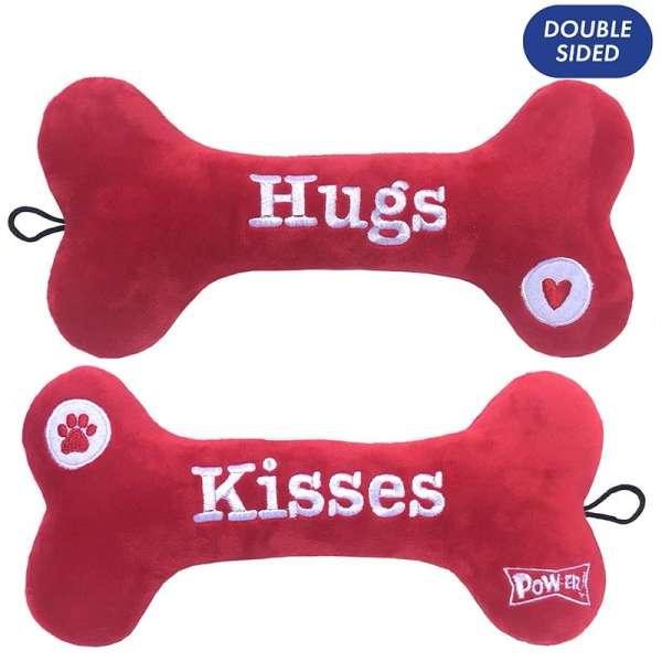 Hundespielzeug Hugs & Kisses Bone