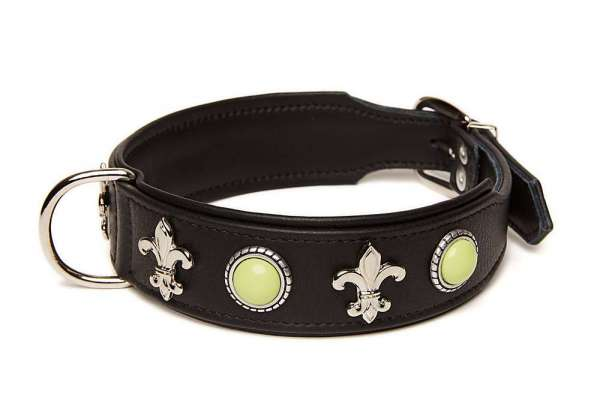 Hundehalsband Marbella - Black-Apple