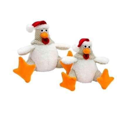 Hunde-Weihnachtsspielzeug Fette Henne Christmas Edition