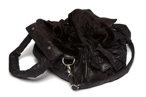 TG&L Hundetasche Bellagio Black Puma-Vintage Black