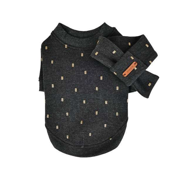 Hundepullover Orabel- Grey inkl. Schal