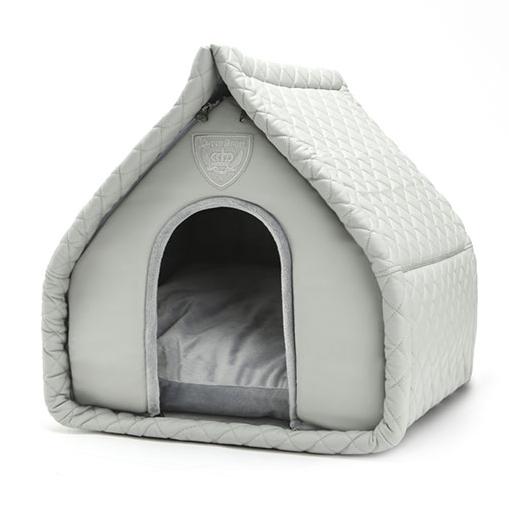 Hunde-Schlafhöhle Little Villa - Grau