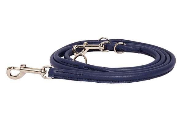 Verstellbare Führleine rundgenäht - Midnight Blue