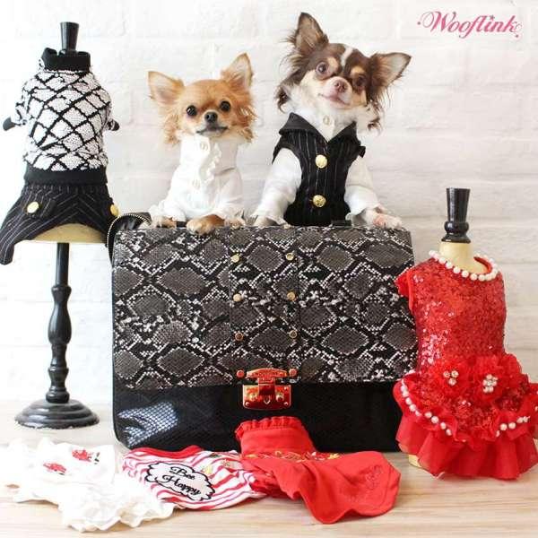 Designer Hundetasche Luxe Bag - Black