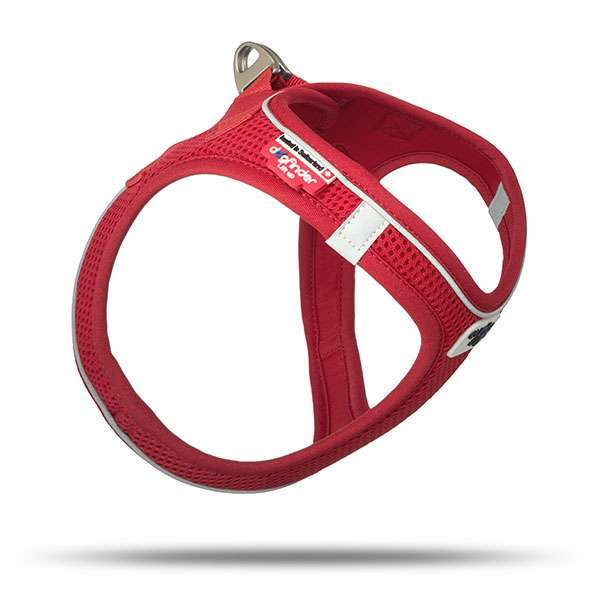 Curli Hundegeschirr Magnetic Vest Harness - Red