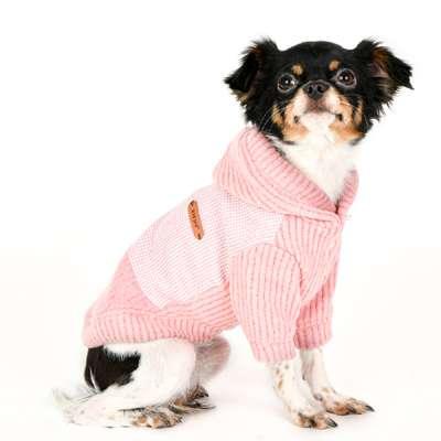 Hunde-Sweater Declan - Rosa
