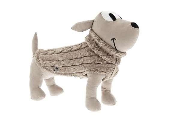 Hundepullover Classico - Beige