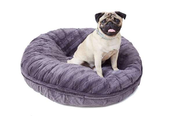 Hundebett Bagel Bed - Gravel Stone