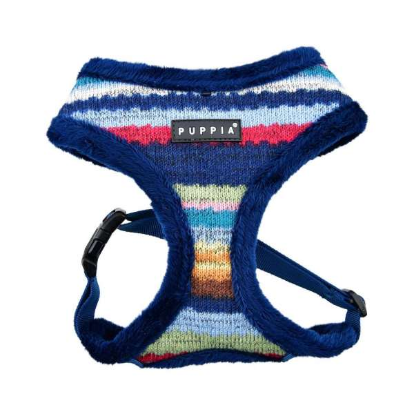 Puppia Softgeschirr Crayon - Blue