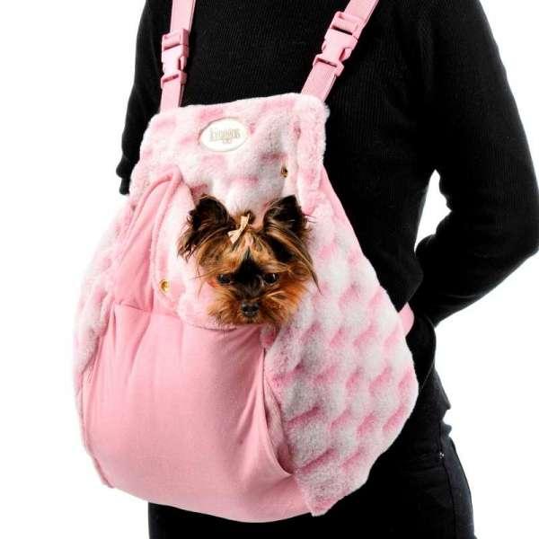 Hunderucksack Rosanna - Rosa