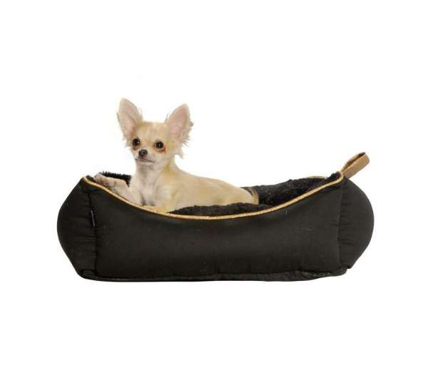 Hundebett Soft Lounger - Black