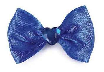 Haargummi Blue Heart