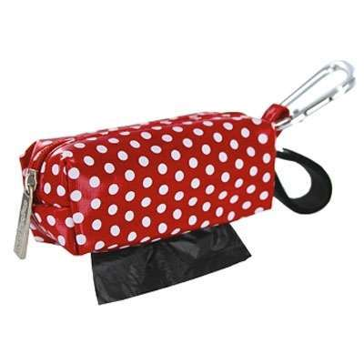 Kotbeutelspender Funny Dots - RED