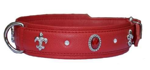 Hundehalsband Venice Rot