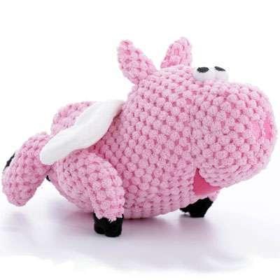 Hundespielzeug Flying Pig