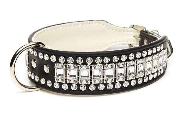 Hundehalsband Decadence -Black