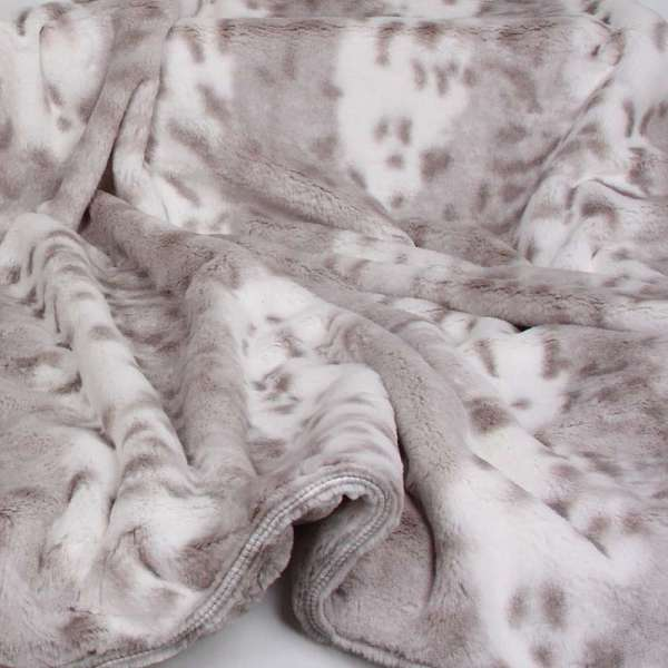 Hundedecke Super Soft Snow Leopard - Platinum