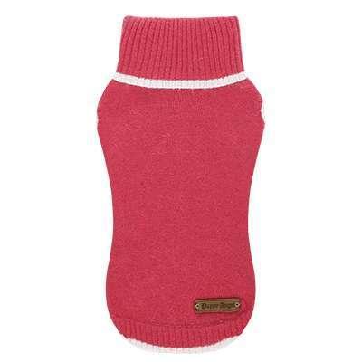 Hundepullover Turtleneck Cashmere - Pink