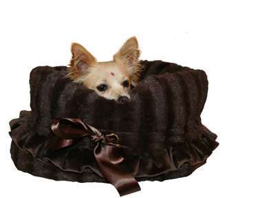 Hundetasche Snuggle Bug Chocolate