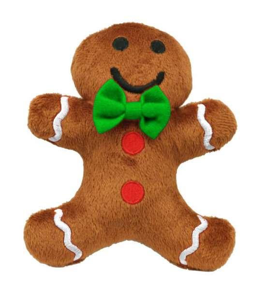 Hunde Weihnachtsspielzeug Gingerbread Man