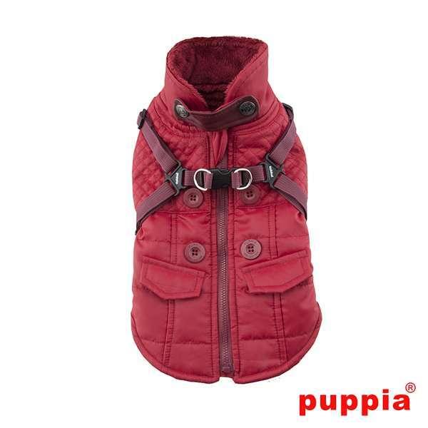 Puppia Hundemantel Wilkes - Rot