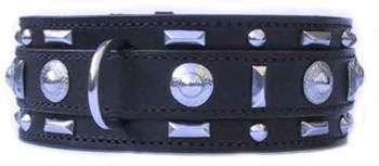 Hundehalsband Gladiator Black