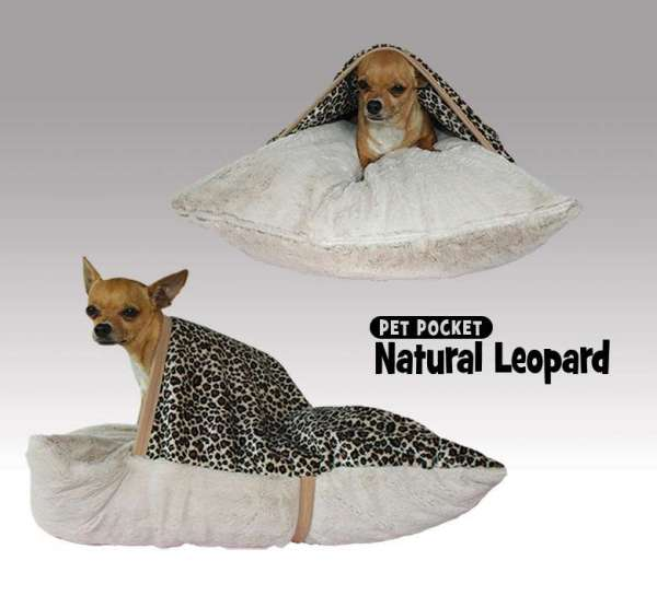 Hundedecke Pet Pocket Leopard