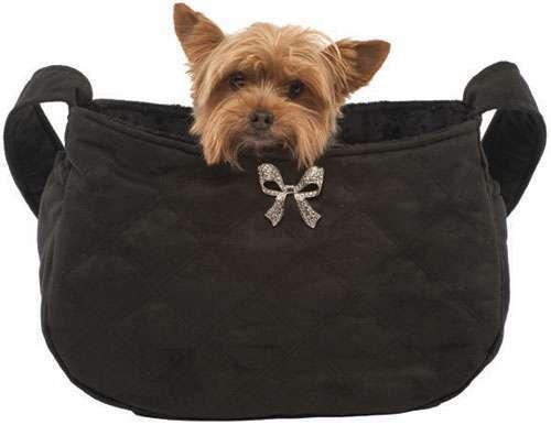 Hundetasche Beverly Hills Black