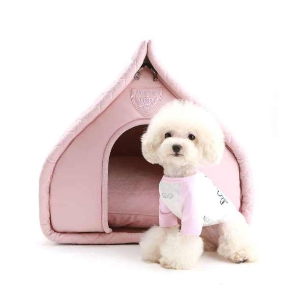 Designer Hunde-Schlafhöhle Little Villa - Rosa