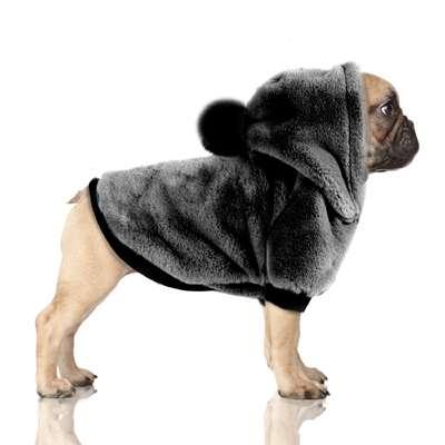 Hunde-Sweater CATHINKA - Grey - Bully / Mops
