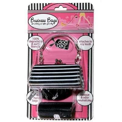 Kotbeutelspender Stripes Black & White