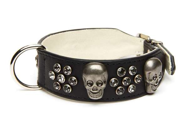 Hundehalsband Jolly Roger - Black-Smoky