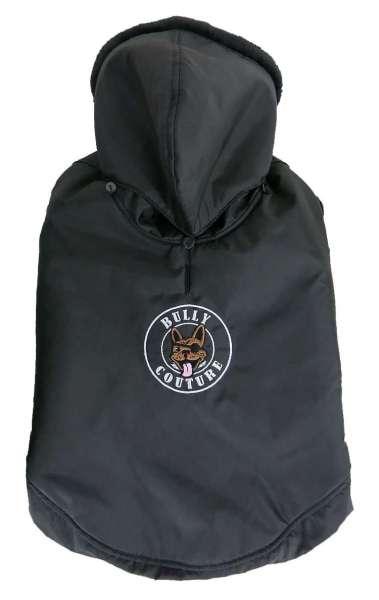 Französisch Bulldog Mantel Bully Couture - Black
