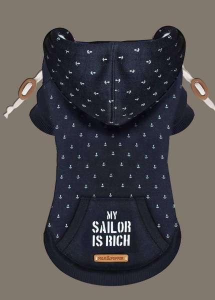 Milk & Pepper Hunde-Sweater Sailor