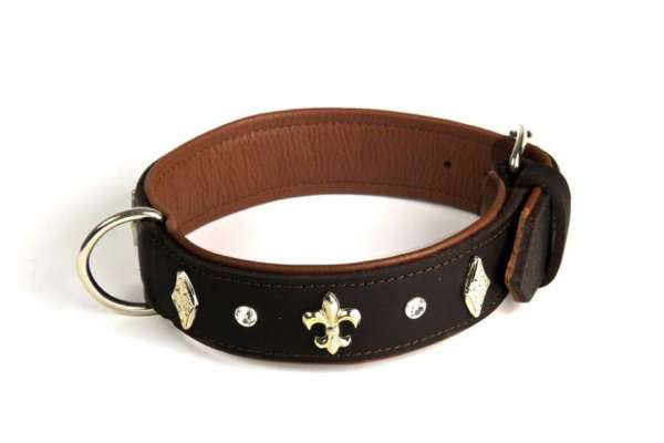 Hundehalsband Malaga - Braun