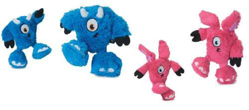 Hundespielzeug Blue Harry & Pink Mary