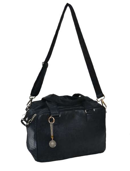 Hundetasche St. Tropez Black-Brown Limited Edition